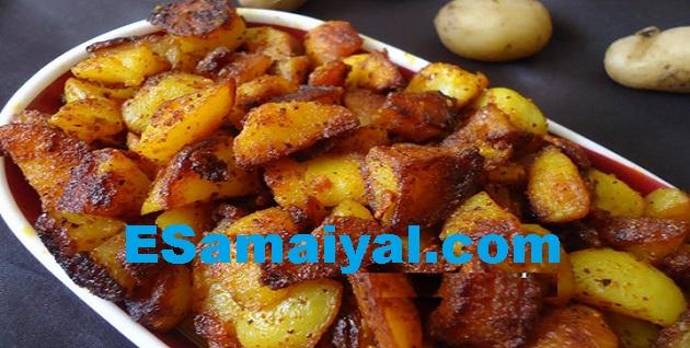ஈஸி உருளைகிழங்கு ஃப்ரை செய்முறை / Easy potato Fry !