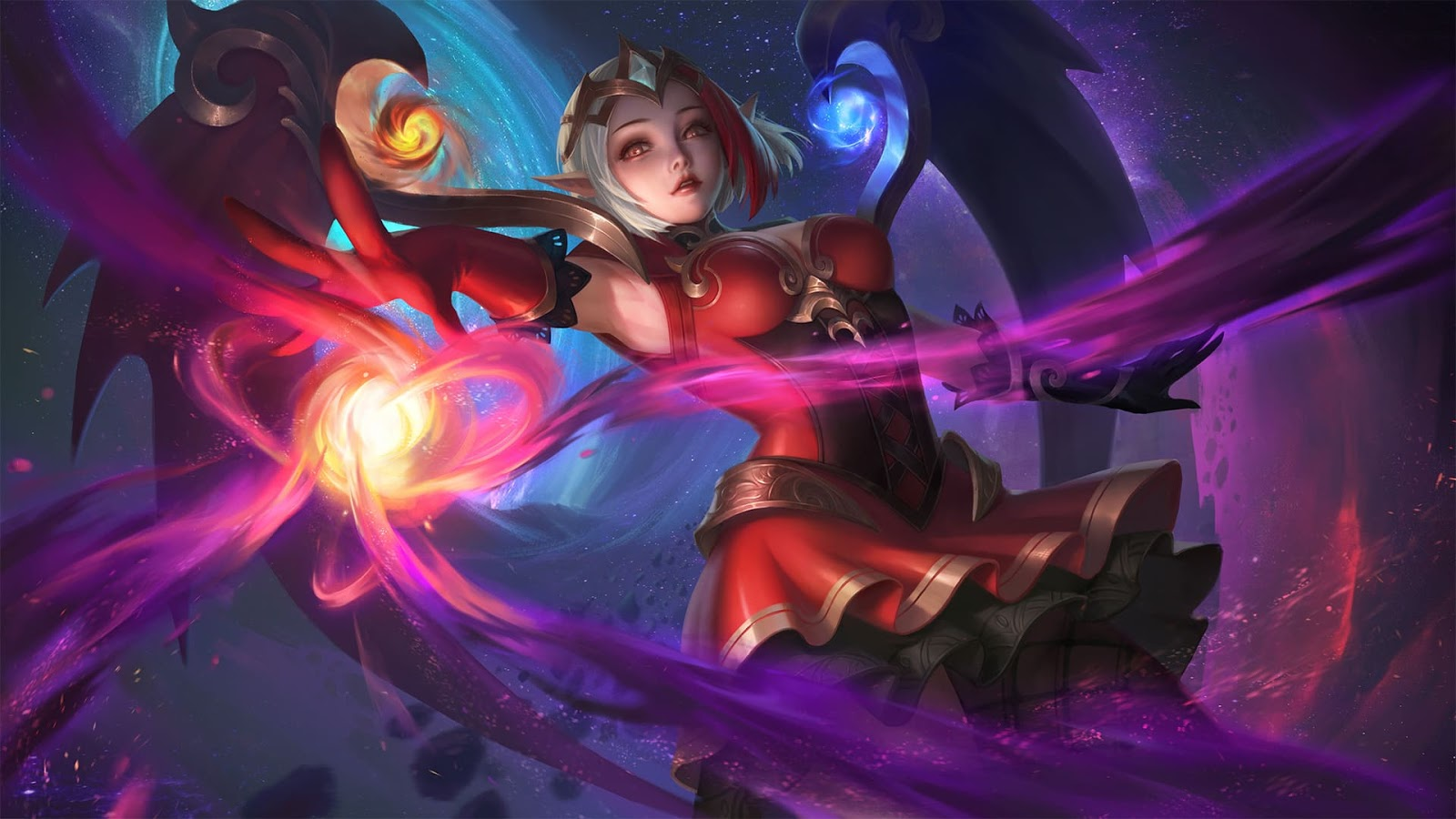 Wallpaper Lunox Bloody Mary Skin Mobile Legends Full HD for PC