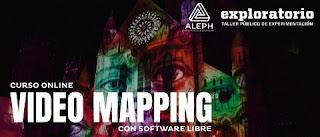 Curso online de VIDEO MAPPING por Parque Explora