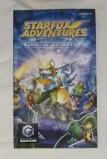 Starfox Adventures - Manual portada