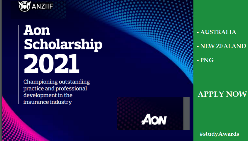 AON Scholarships for Australia, New Zealand and PNG