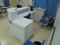 Meja Customer Service Front Desk Semarang