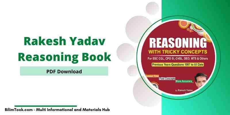 [PDF] Rakesh Yadav Reasoning Book PDF Download Free
