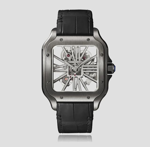 "افضل ساعة كارتير سانتوس ""Cartier Santos de Cartier"""