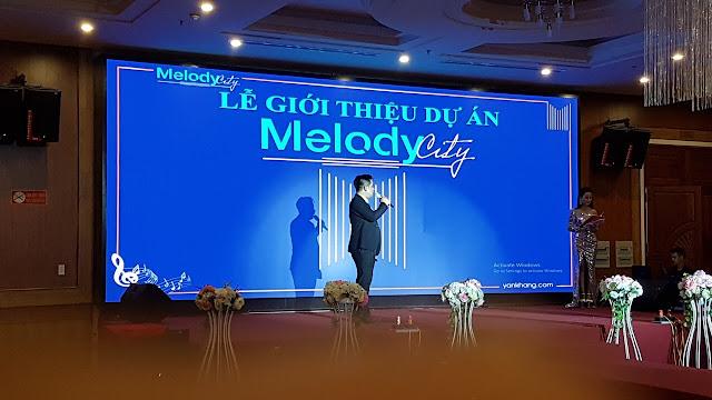Ra mắt dự án Melody Ctiy với nhiều nhà đầu tư tiềm năng