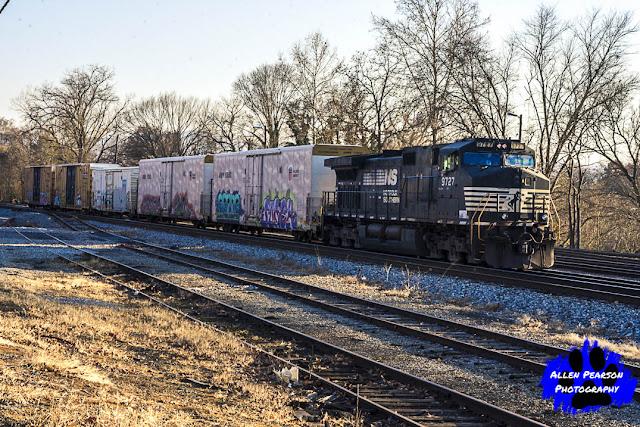 Norfolk Southern at Shenandoah Railyard, Shenandoah, VA