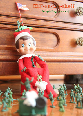 Mount Elf-moore! This was a fun one to set up for the parents.