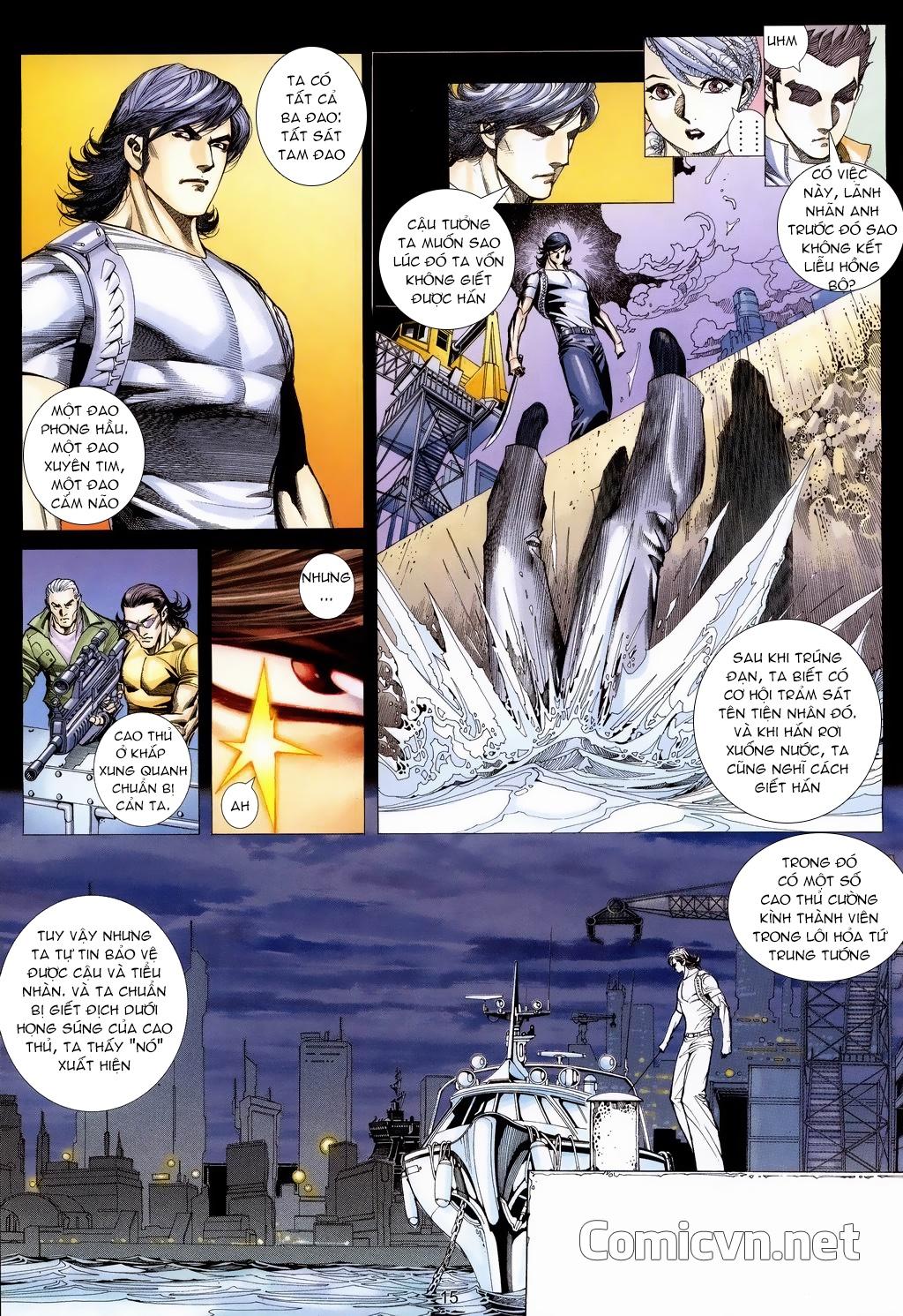 Xích Trụ Phạn Đường chap 18 - Trang 14