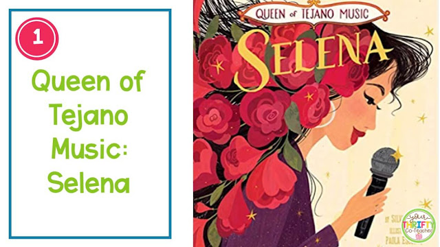 If you're looking for picture books to share with your upper elementary students during Hispanic Heritage Month,  this list of biographical picture books is for you.
