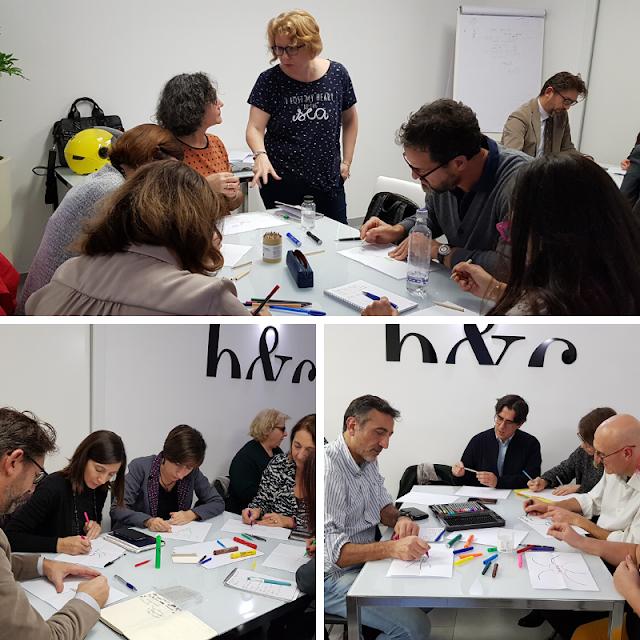 Il workshop di Lucia Rosati dedicato alle mappe mentali nella formazione