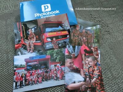 Printing PERCUMA dari Photobook untuk 40pcs gambar saiz 4R