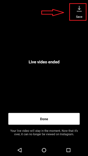 Cara save atau download live streaming di instagram