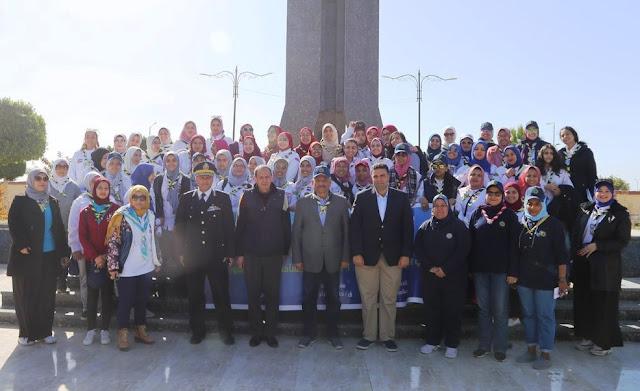 محافظ السويس يلتقي ممثلي جمعية المرشدات المركزية من 27 محافظة
