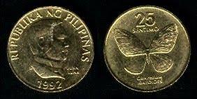 Philippines 25 Sentimos (1991-1994)