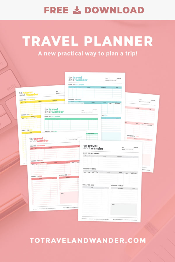 Free Download Travel Planner