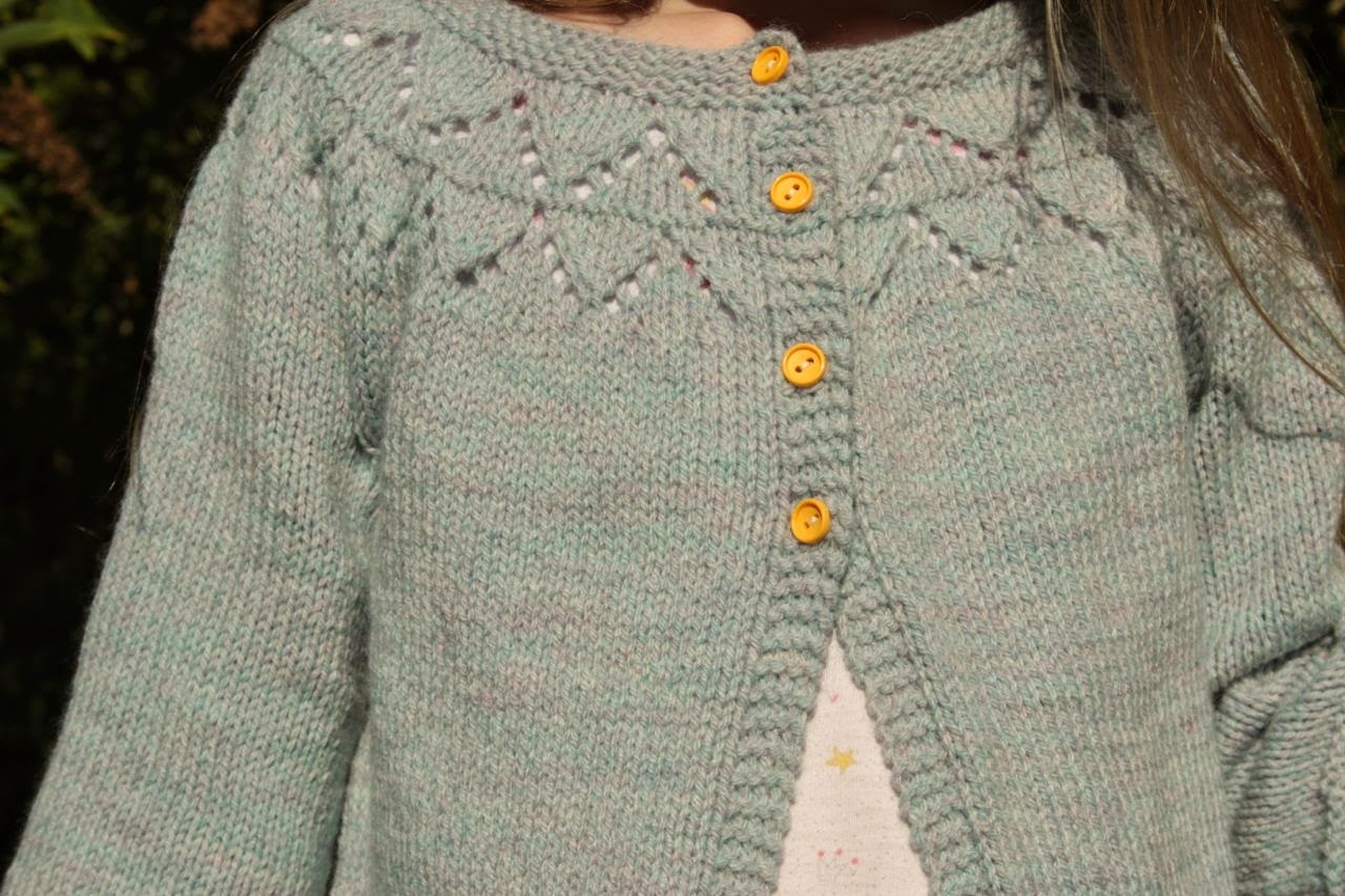 Cherry Heart: Granny's favourite cardigan