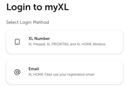 cara login ke myXL