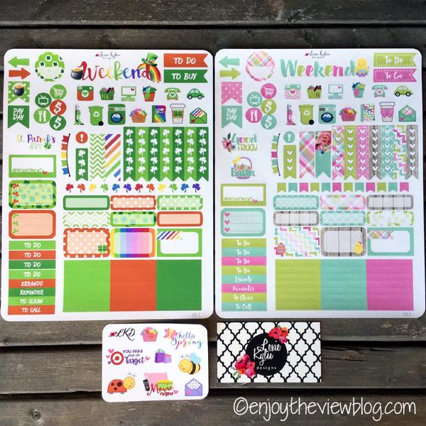 Lexie Kylee Designs planner stickers