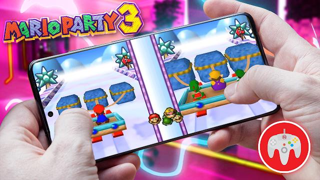 Mario Party 3 en Español Para Teléfonos Android (ROM N64)