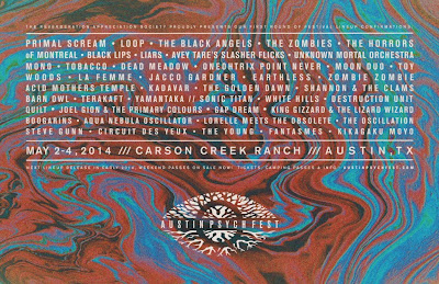 Austin Psych Fest 2014 Official Mixtape By Al Lover