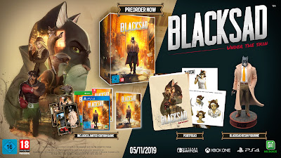 Edición limitada Blacksad: under the Skin
