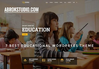 7 Best Responsive Education WordPress Themes For Online Courses, Schools, Kindergartens and Universities 2020