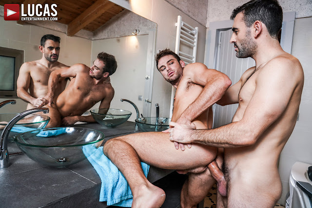 LucasEntertainment - MAX ADONIS AND MAX ARION SCREW ON THE SLY
