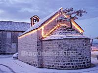 Božić snijeg Nerežišća otok Brač slike