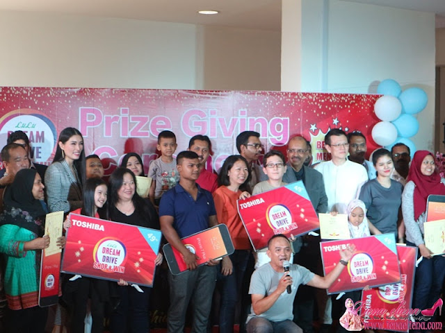 Majlis Pemberian Hadiah Lulu Dream Drive Shop & Win