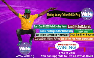 Make Money online reading news is fast and smart with wini