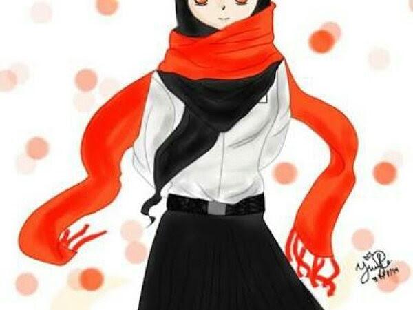 HD Wallpapers Hijab Cartoons