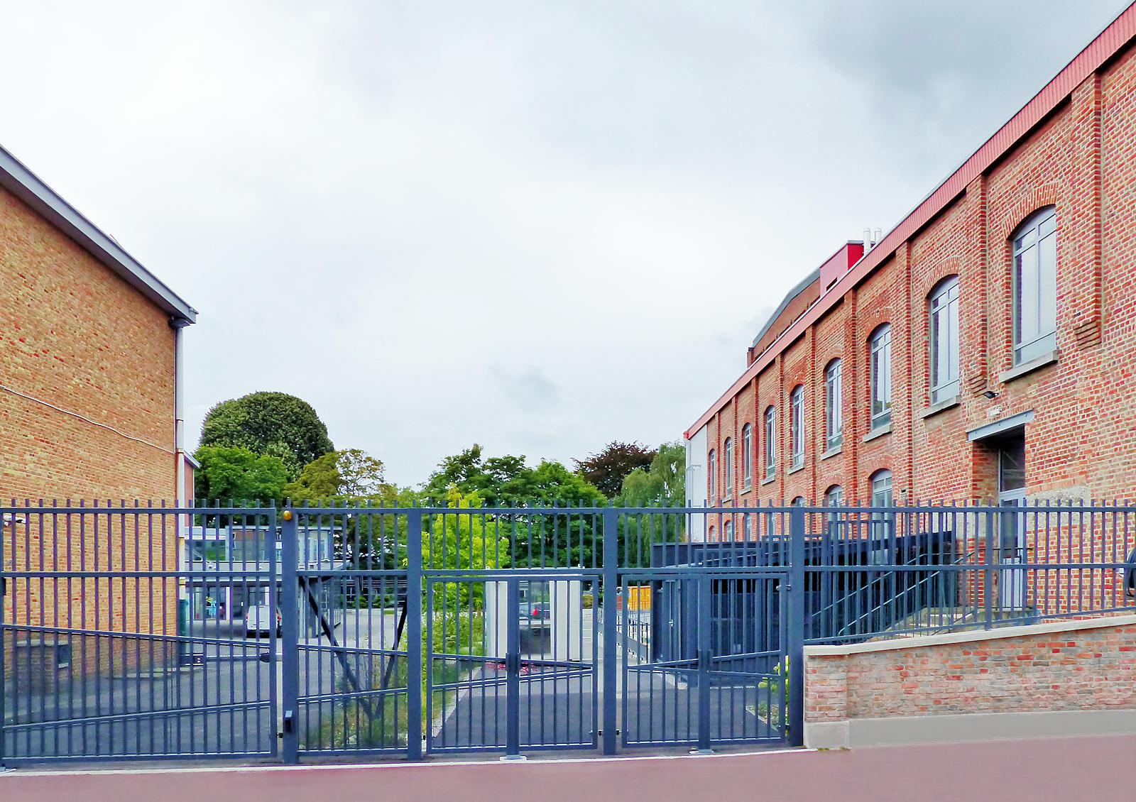 Lycée EIC LICP, Tourcoing - Grille rue de l'Alma.