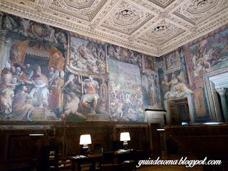 palacio farnese salao fasti receptivo portugues roma - Palácio Farnese