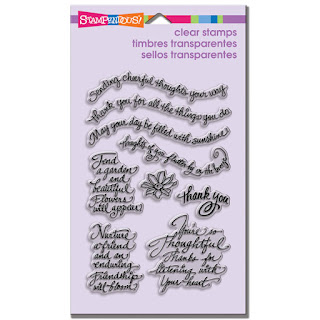 Thoughtful Wishes Perfectly Clear Stamp Set