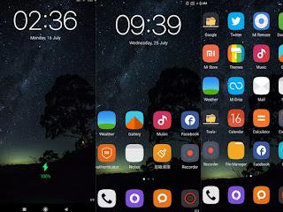 Night view MIUI theme download