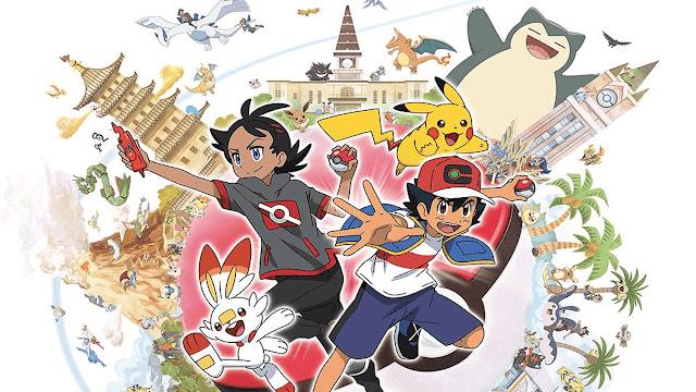 Anime Pokémon Ash e Go