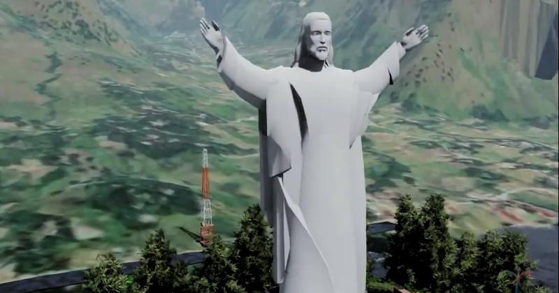 Kabar Baik, Indonesia Sebentar Lagi Memiliki Patung Yesus Tertinggi di Dunia