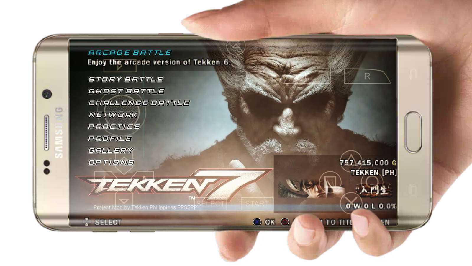 Tekken 7 Heihachi Mod Download on Android - My Play Station