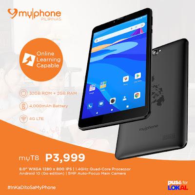 MyPhone myT8