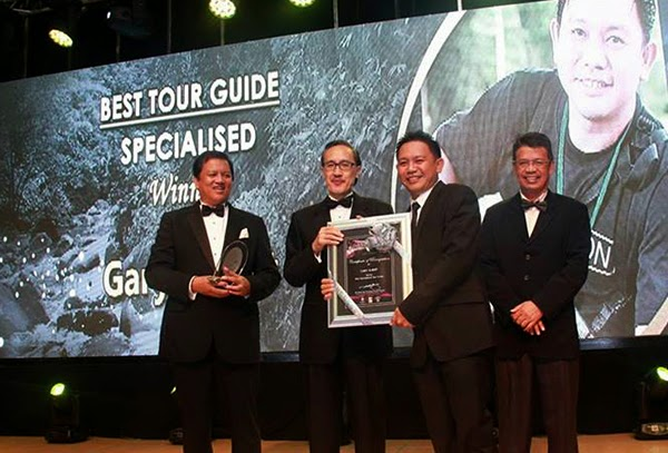Winners for the Sabah Tourism Awards 2013