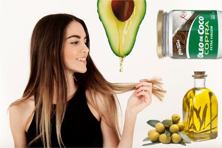 Rotina de cuidados com óleos vegetais para cabelos longos, lindos e fortes.