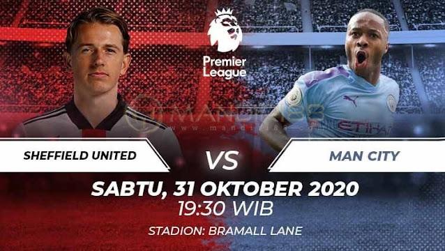 Prediksi Sheffield United Vs Manchester City, Sabtu 31 Oktober 2020 Pukul 19.30 WIB @ Mola TV