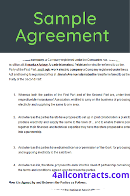 agreement between two parties that creates an obligation