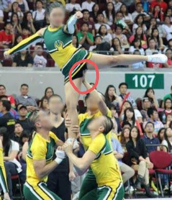 grappige cheerleaders