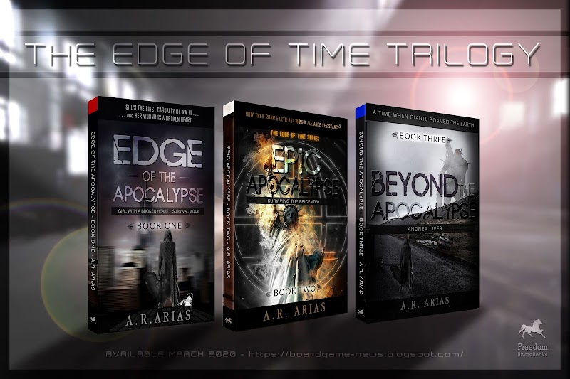 Epic Apocalypse - Edge of Time Book Series New Covers