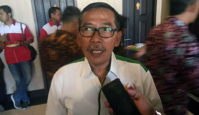 Ketua KONI H. Ngateman.