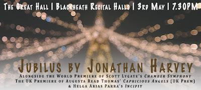 Riot Ensemble - Jonathan Harvey: Jubilus