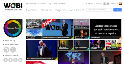 WOBI - Videos y conferencias para emprendedores