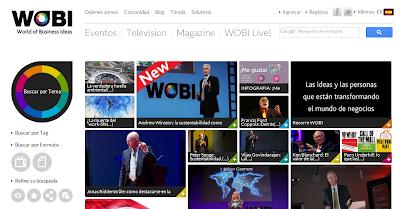 WOBI - Videos y conferencias para emprendedores