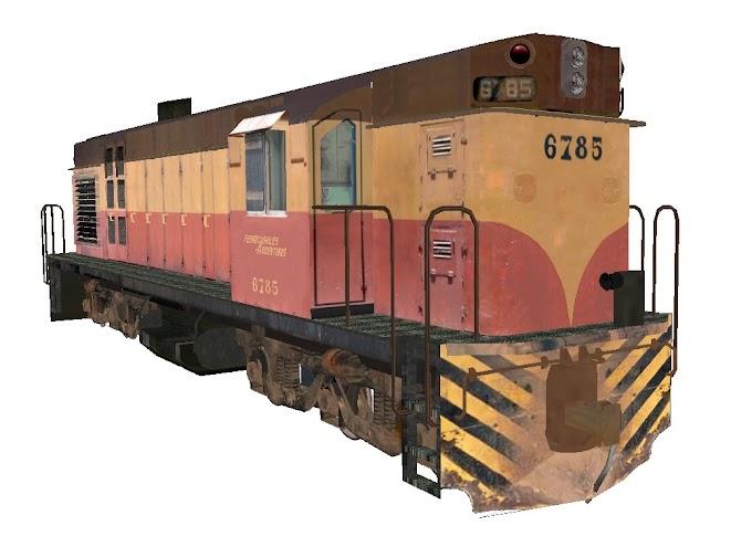 ALCo RSD-35 6785 - Ferrocarriles Argentinos